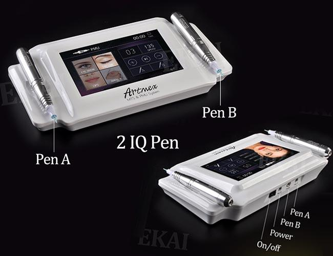 Powerful Silver Body Digital Permanent Makeup Machine Kit For Anti Aging