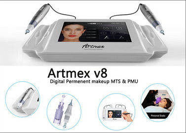 China Powerful Silver Body Digital Permanent Makeup Machine Kit For Anti Aging supplier