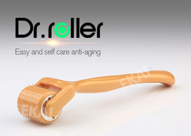Small Clinical Derma Roller 4 In 1 , Titanium Needle Derma Roller For Face Scars