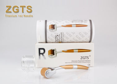 Microneedle ZGTS Derma Roller 192 Gold Titanium Needle For Anti - Aging